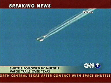 Media Reports on U.S. Spaceshuttle Columbia's Disaster ...