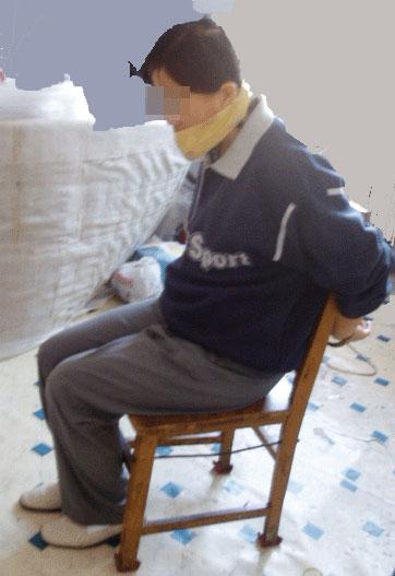 e54135 exemples de techniques brutales utilis es au camp de travail forc de wanjia pour. Black Bedroom Furniture Sets. Home Design Ideas