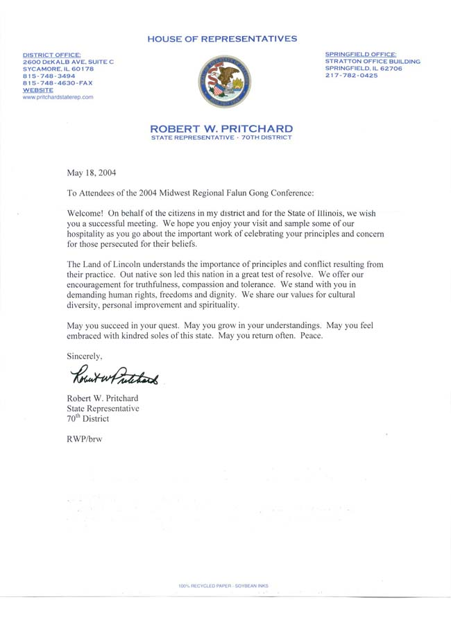 How To Address A Letter To A State Congressman