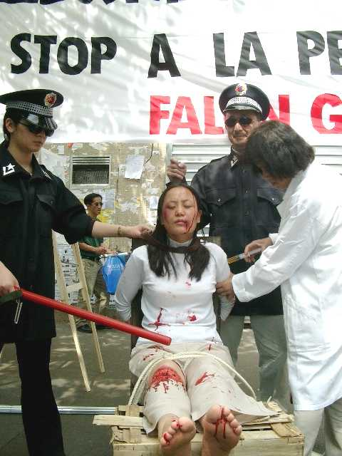 france practitioners exhibit some of the torture methods