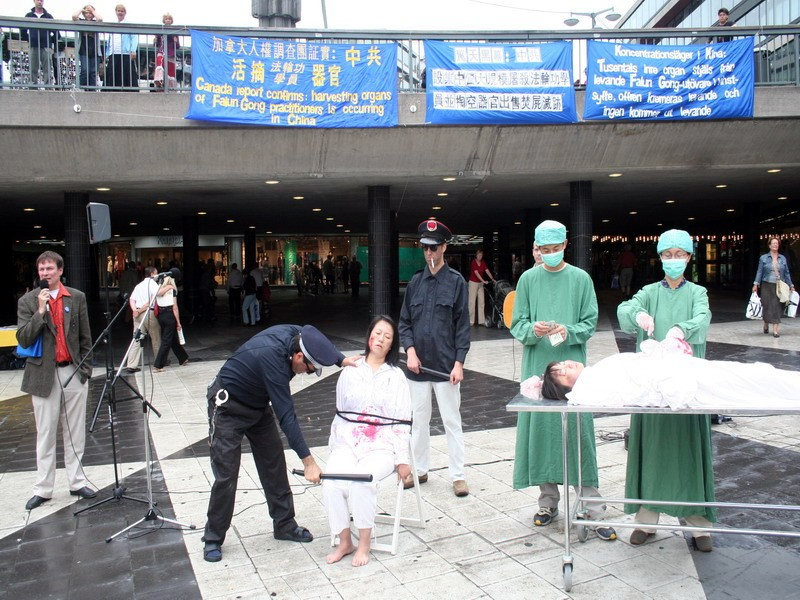 falun gong and the callous act in china More than a thousand falun gong practitioners and supporters the bill amends the trafficking victims protection act of 2000 and washington free beacon.