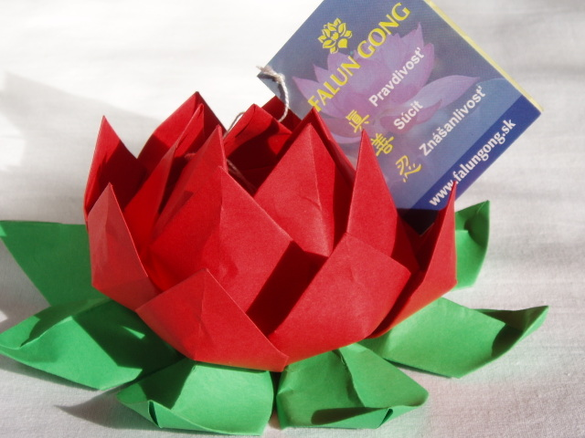 A Bookmark Or Personal Note Can Be Attached To The Finished Lotus Flower DonaEURTMt Forget Make It Positive Message Because ThataEURTMs Only Way