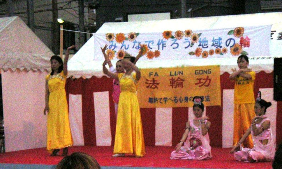 falun gong shines in the tokyo