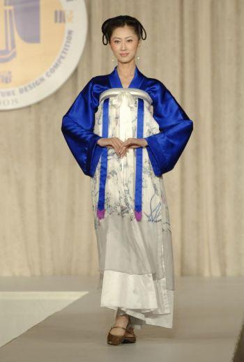 Gold winner for formal wear at NTDTV