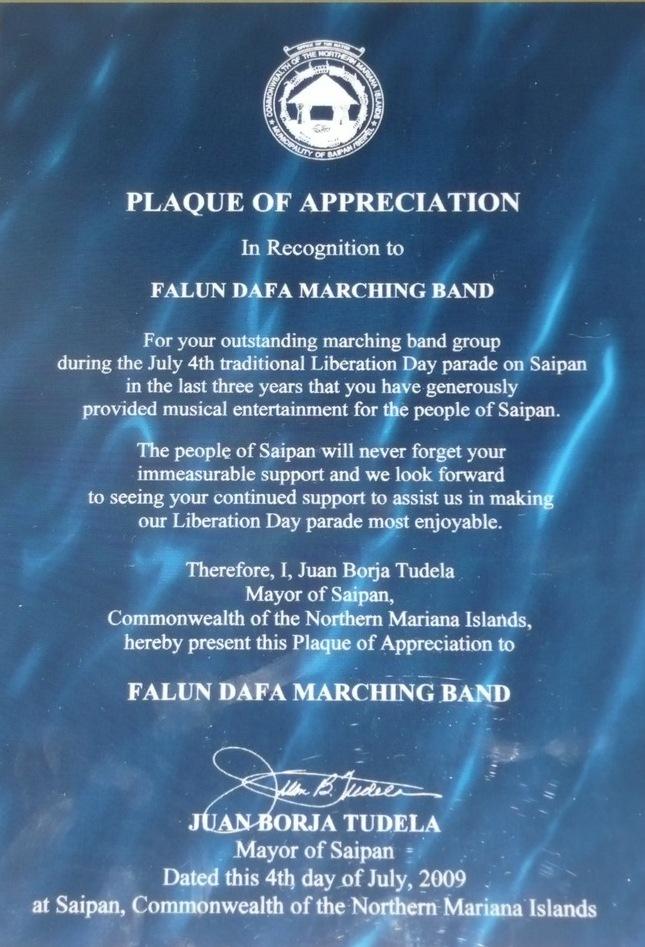 Saipan: Divine Land Marching Band Receives City ...