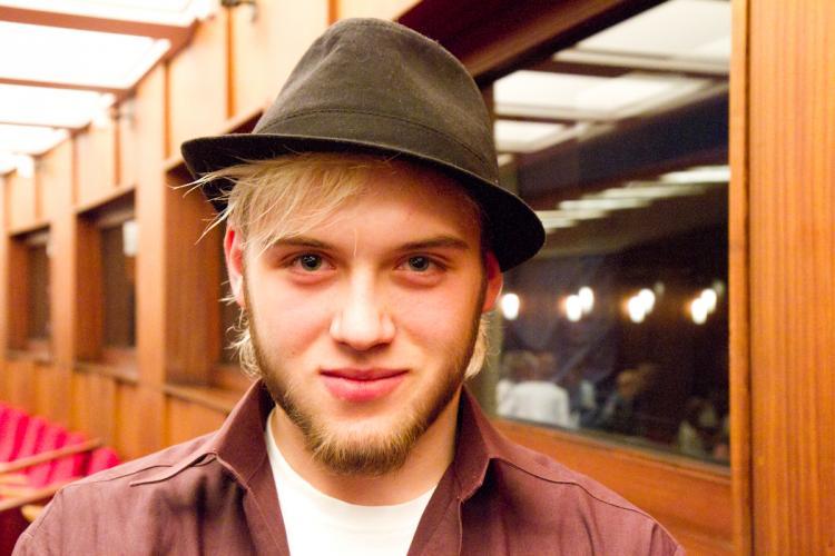 Maksymilian Hac, a professional dancer. (Jan Jekielek/The Epoch Times) - 2010-6-22-Maksymilian_Hac_Jan_Jekielek