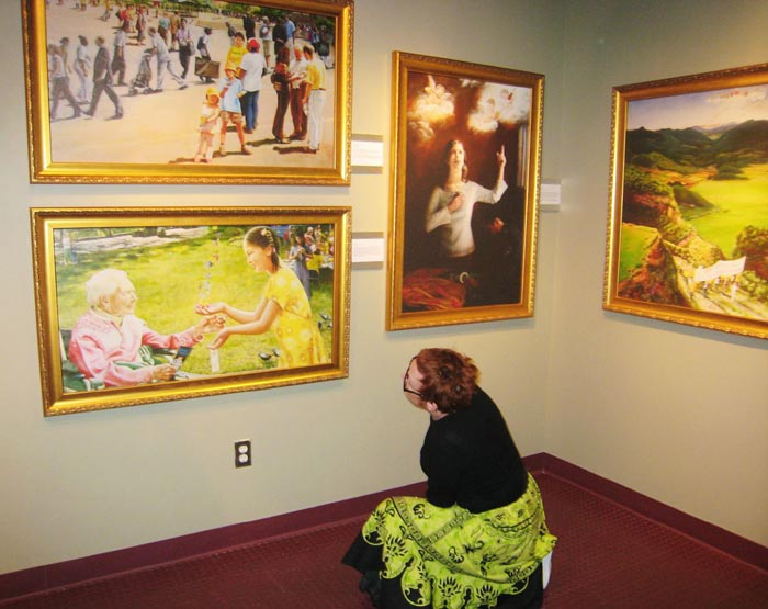 essay on painting exhibition Pop art is an art movement that emerged in britain the essay was one of the first on this first pop art museum exhibition in america was curated by.