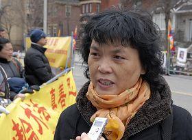 法轮功学员王影揭露黑嘴子劳教所的酷刑折磨