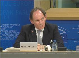 Vice-president of the European Parliament Edward McMillan-Scott