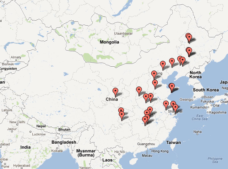 Additional Persecution News From China August - Jiaozhou city map