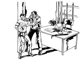 Ilustrasi Penyiksaan 25: Ditusuk dengan Peniti