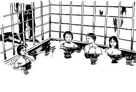 Ilustrasi Penyiksaan 27: Air di Bawah Tanah Tempat Menahan Orang