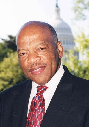 Below is a letter from Congressman <b>John Lewis</b> of Georgia. - 2012-7-11-cmh-john-lewis