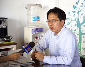 立法委员邱志伟表示,呼吁台湾政府拿出担当,对钟鼎邦要全力营救