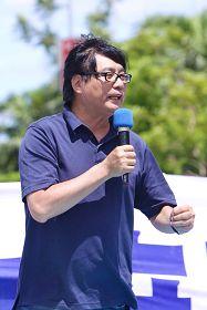 台湾关怀中国人权联盟理事长杨宪宏