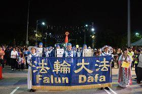 '天国乐团被安排压轴演奏马来著名民谣《RasaSayang》,获得民众欢迎。'