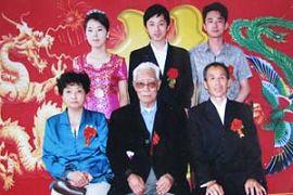 大儿子李广结婚全家合影
