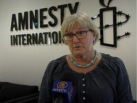 '瑞典大赦国际新闻发言人伊丽莎白·洛夫格伦'