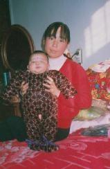 Wu Jingxia dan bayinya, korban penyiksaan