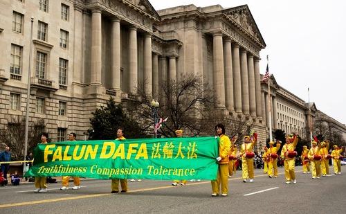 """""""Pháp Luân Đại Pháp hảo"""" vang dội trên Đại lộ Hiến pháp Washington, DC.2"""