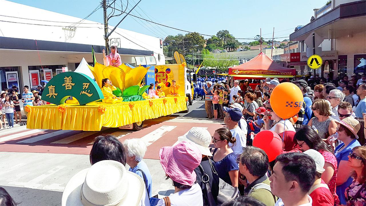 Australia La Carroza De Falun Dafa Gana El Primer Lugar En