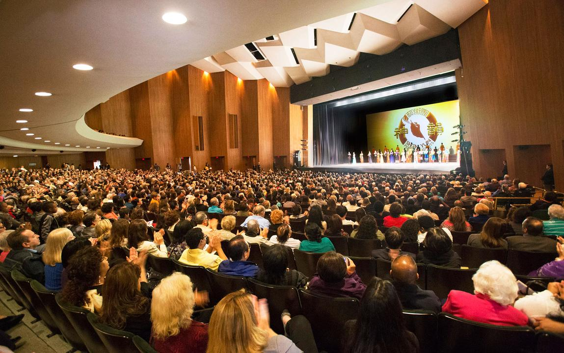 Shen yun 39 s sold out shows in southern california impress for The terrace cinema