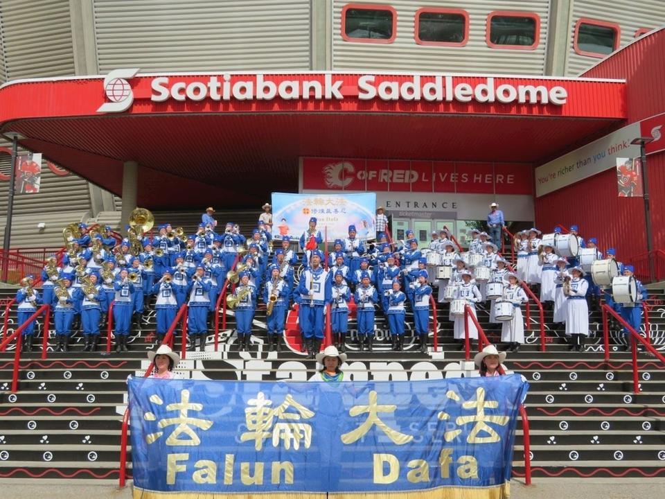 Falun Gong At Calgary Stampede 2018 Falun Dafa Minghui Org