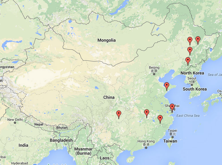 Additional Persecution News From China October - Jiaozhou city map