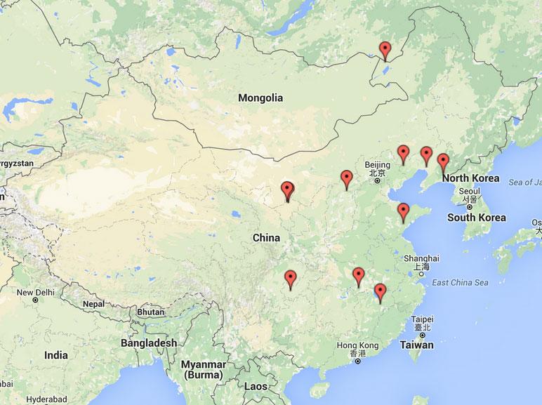 Additional Persecution News From China November - Manzhouli map