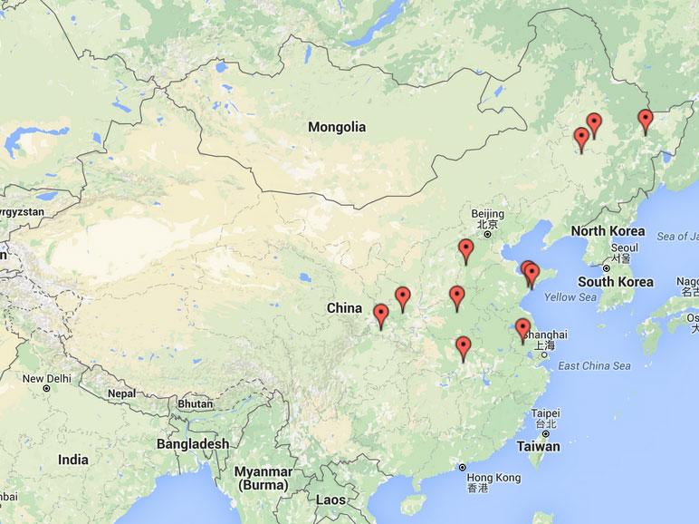 Additional Persecution News From China July Reports - Jiaozhou city map