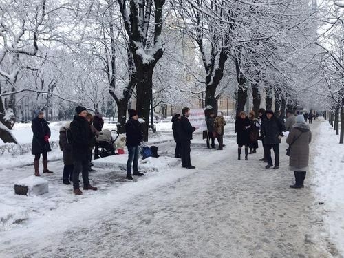 Латвия, Фалуньгун