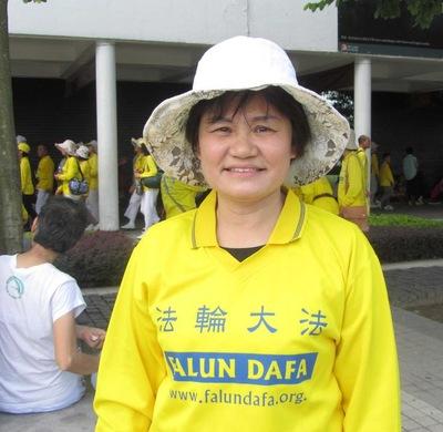 Li di kegiatan Falun Gong di Hong Kong