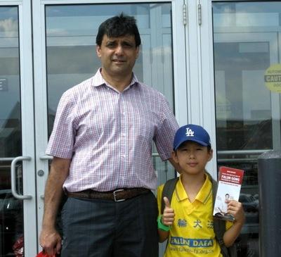 Sunderani, seorang pengusaha dan ayah dari seorang praktisi Falun Gong.