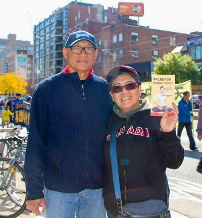Irene dan suaminya mengatakan bahwa mereka mendukung upaya untuk mengakhiri penganiayaan / penyiksaan