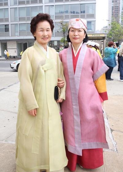 Zheng Jun-bun dan Kim Seon-ja dari Korea Selatan