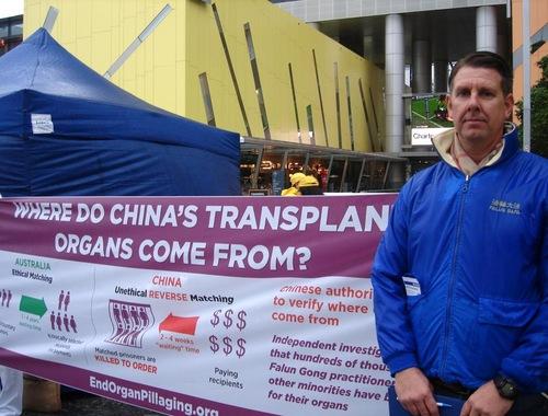 Scott Smythe belajar Falun Gong sekitar waktu yang sama ketika penganiayaan dimulai di Tiongkok 17 tahun lalu.