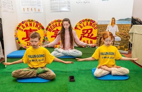 Фалуньгун в Швеции, Фалунь Дафа, упражнения Фалуньгун