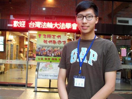 Huang, mahasiswa kedokteran, berkata bahwa latihan ini membuatnya fokus dan bertenaga