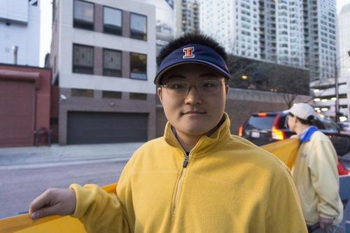 Sun Xinyu, 23 tahun bekerja sebagai seorang insinyur di Springfield