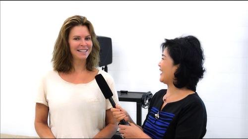 Kelly Moshina tin rằng Pháp Luân Công sẽ giúp cô giảm stress