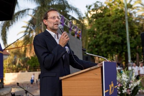 Mantan Anggota Knesset (Parlemen Israel ) Moshe Feiglin
