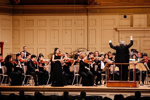 Shen Yun Symphony Orchestra - Biola solo Fiona