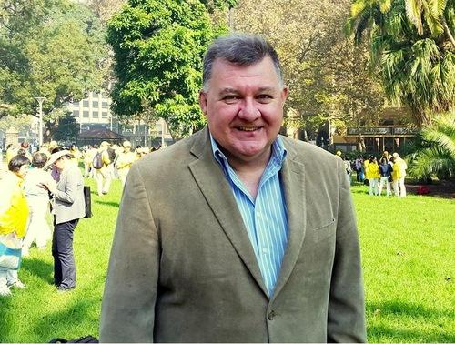 Anggota Parlemen Australia Craig Kelly mengatakan bahwa dia sangat senang bertemu begitu banyak orang di acara tersebut.