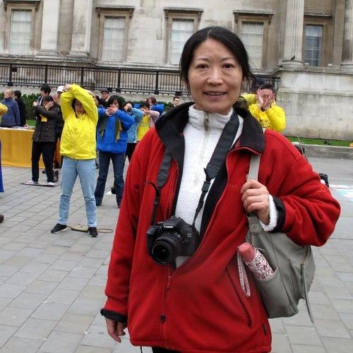 Reporter Jepang Megumi