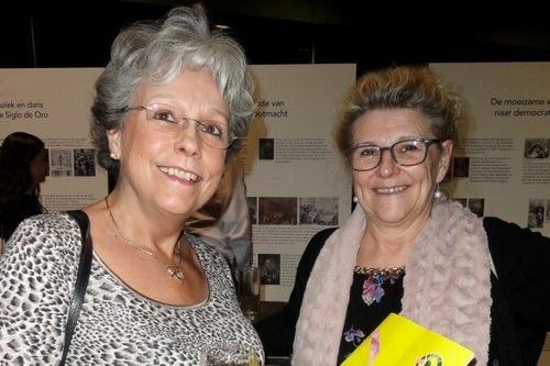 Tenaga medis Luth Verbruggen dan Diane Lierman