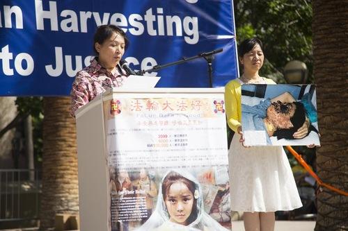Gao Weiwei mengatakan kematian Rongrong sangat menyedihkan keluarga (korban penyiksaan)