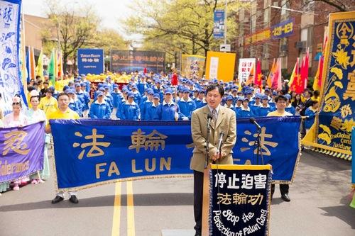 Zhang Erping, juru bicara dari Pusat Informasi Falun Dafa, mengenang aksi damai 1999