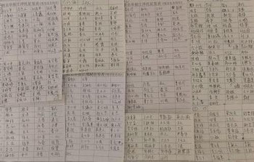 Beberapa dari 5.215 tanda tangan yang baru-baru ini terkumpul di Kota Changsha dalam mendukung tuntutan hukum terhadap Jiang Zemin