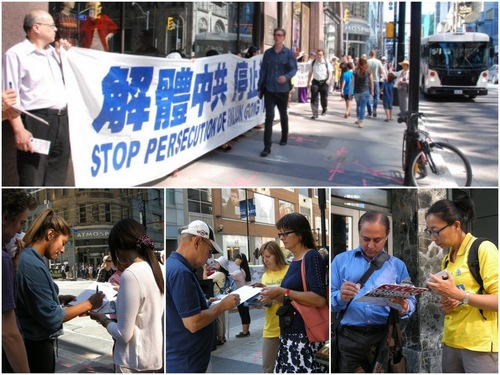"""Tembok Besar Kebenaran"" mengekspos pengambilan organ praktisi yang masih hidup di Tiongkok oleh PKT. Banyak orang menandatangani petisi untuk menyerukan diakhirinya pengambilan organ tersebut"