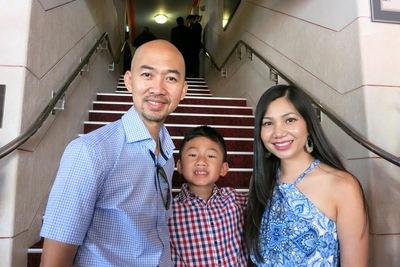Apoteker Trang Nguyen dan suaminya Hugh